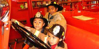 Nos rêves d'enfants - pompier